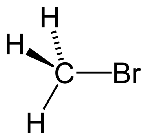 methyl bromide molecule